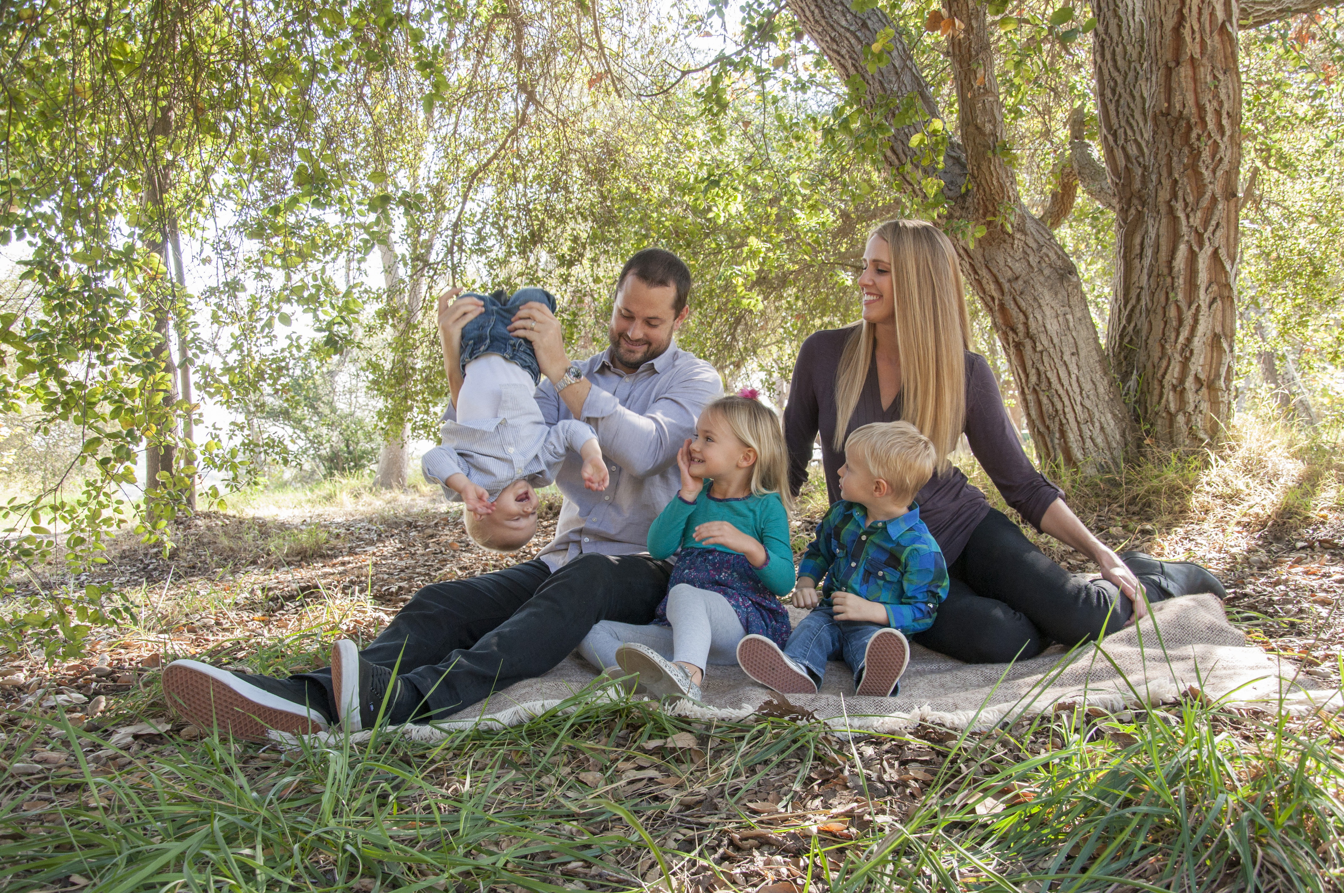 Family Photography session with children